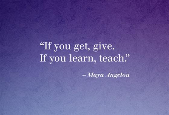 Maya - Teach